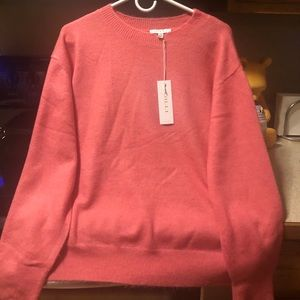 Women's New Pink Sweater Size XL